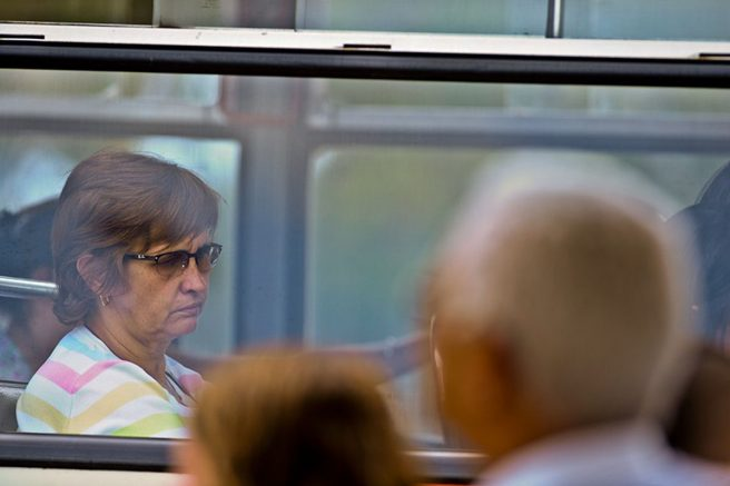 idosos assento ônibus