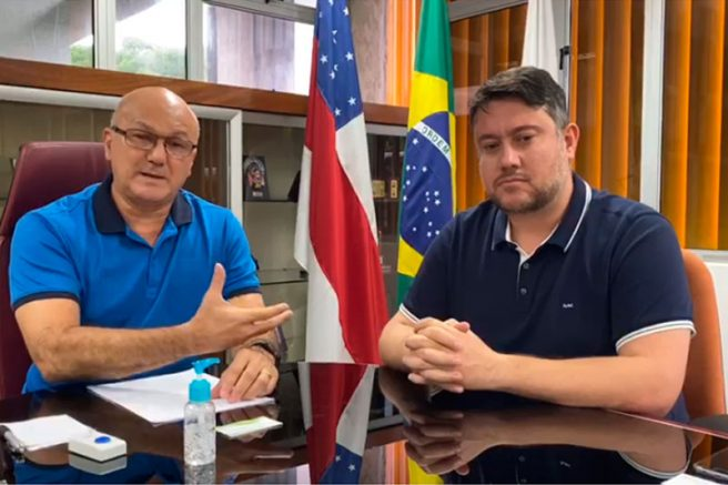Alfredo Menezes e Cássio Espírito Santo