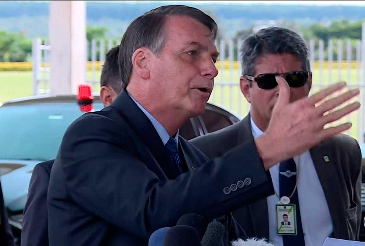 Jair Bolsonaro foi o responsável por 121 dos 208 ataques contra veículos de comunicação e jornalistas em 2019 (Foto: TV Globo/Reprodução)