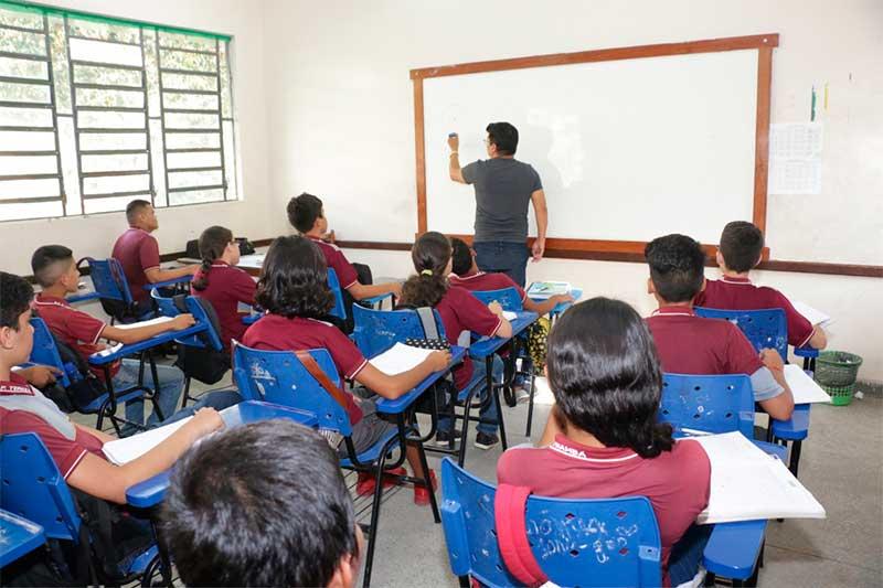 Contratação de professor será temporária para o ano letivo de 2020 (Foto Eduardo Cavalcante/Secom)
