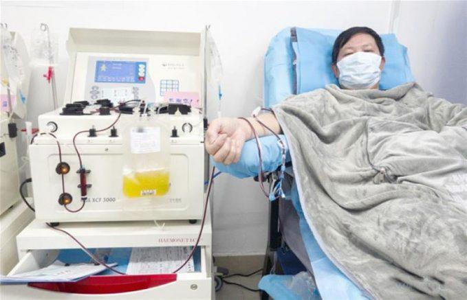 Paciente com coronavírus na China