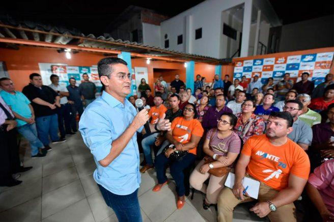 David Almeida em evento do Avante