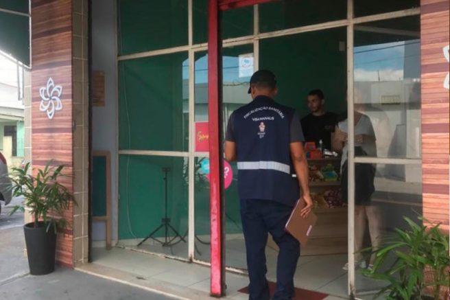Fiscalização da Visa Manaus