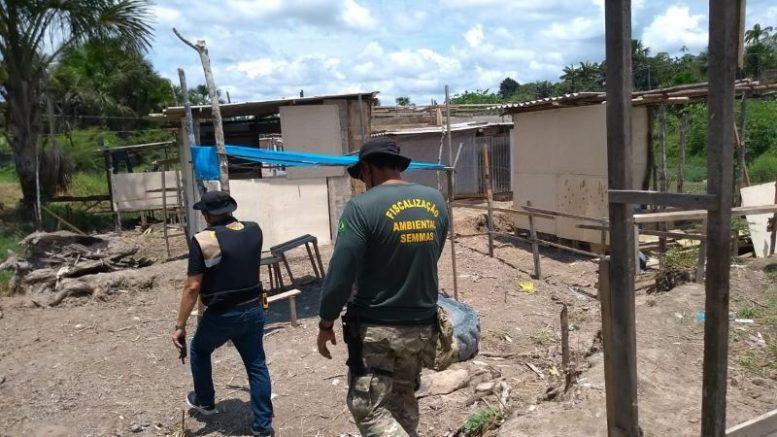 invasão no Igarapé da Ponte da Bolívia