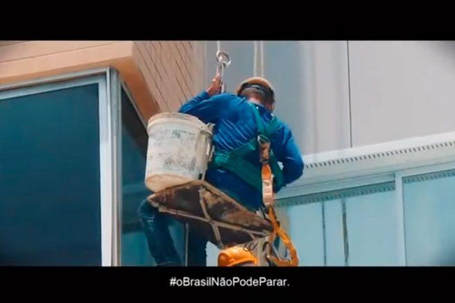 Imagem reproduzida do vídeo