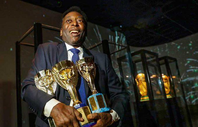 Pelé é tricampeão mundial com a seleção brasileira (Foto: CBF/Divulgação)