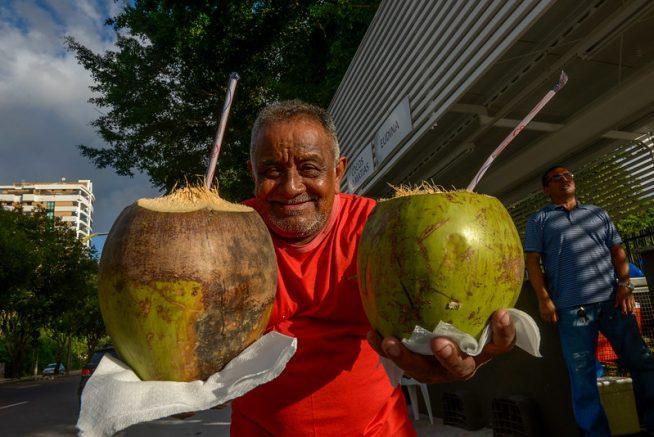Praça dos cocos