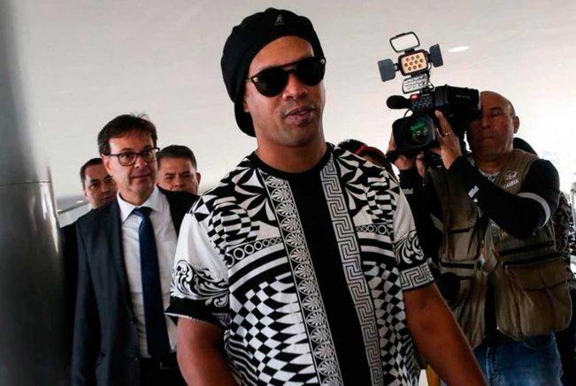 Em 2019, Ronaldinho foi nomeado embaixador do turismo, mesmo sem ter passaporte (Foto: Antônio Cruz/Agência Brasil)
