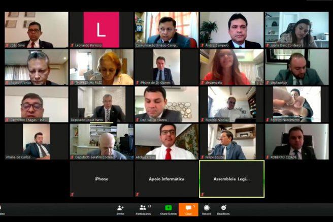 Sessão Ordinária Virtual da ALE