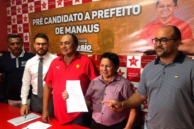 Sinésio Campos pré-candidatura