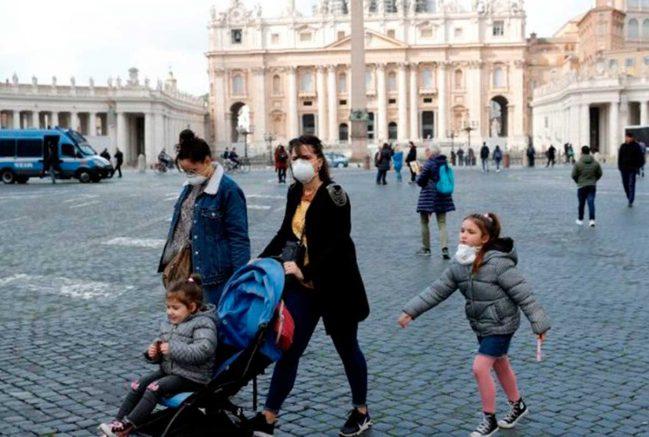 A Igreja suspendeu catecismos, cursos de preparação para o casamento, retiros e exercícios espirituais e peregrinações (Foto: VaticaNews/Reprodução)