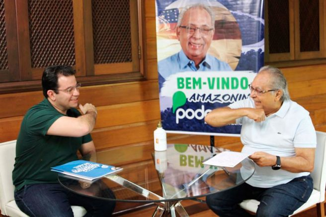 Wilker Barreto e Amazonino Mendes
