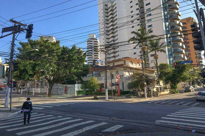 Capitais brasileiras aderiram ao isolamento social para conter pandemia (Foto: Paulo Pinto/FotosPublicas)