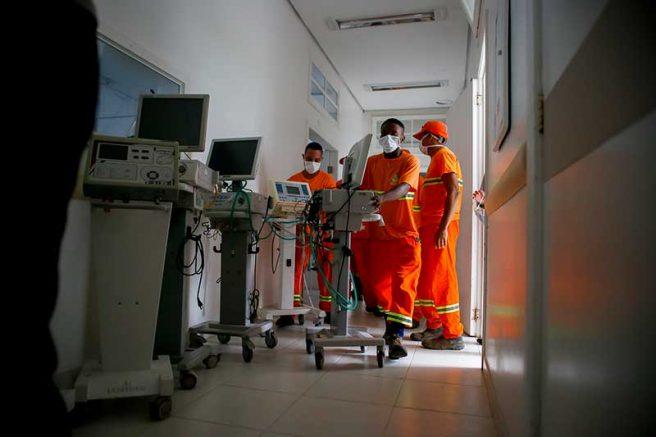 Governos se organizam para montar salas de UTI (Foto: Anselmo Cunha/ PMPA)