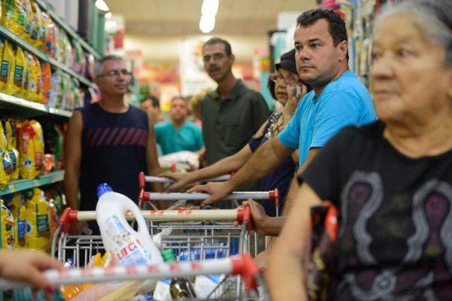 O consumo das famílias é o principal componente do PIB sob a ótica da demanda, respondendo por 64,8% (Foto: Tânia Rêgo/Agência Brasil)