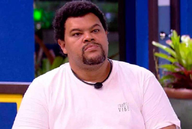 Babu Santana foi eliminado neste sábado, com 57,17% dos votos (Foto: TV Globo/Reprodução)