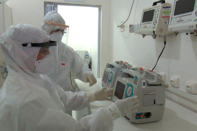 Respiradores para pacientes com coronavirus