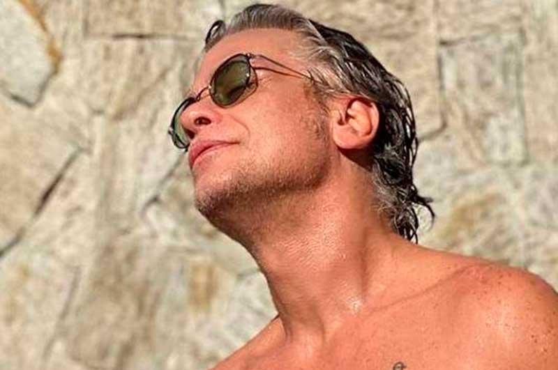 Fábio Assunção contou que perdeu 27,5 kg e publicou foto na internet (Foto: Instagram/Reprodução)