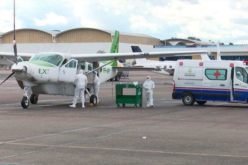 UTI Aérea no Amazonas