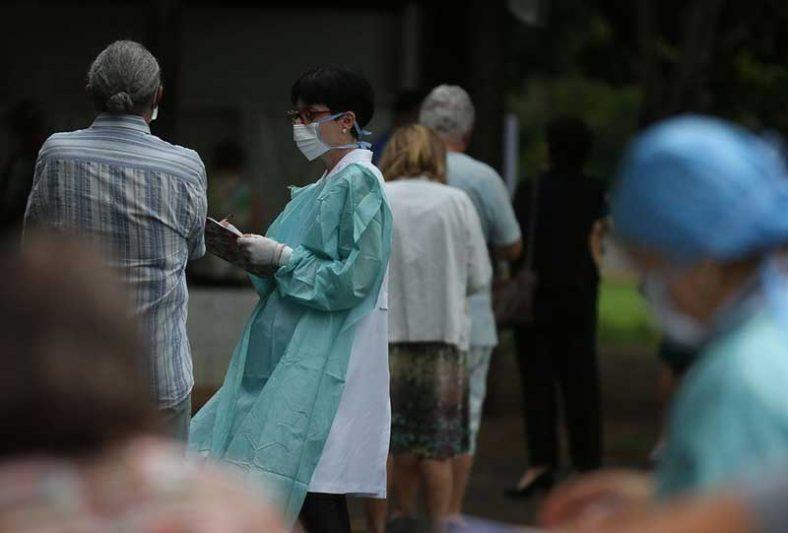 Ao menos 14 funcionários do sistema de saúde municipal de São Paulo morreram sob suspeita de coronavírus (Foto: Marcello Casal Jr./Agência Brasil)