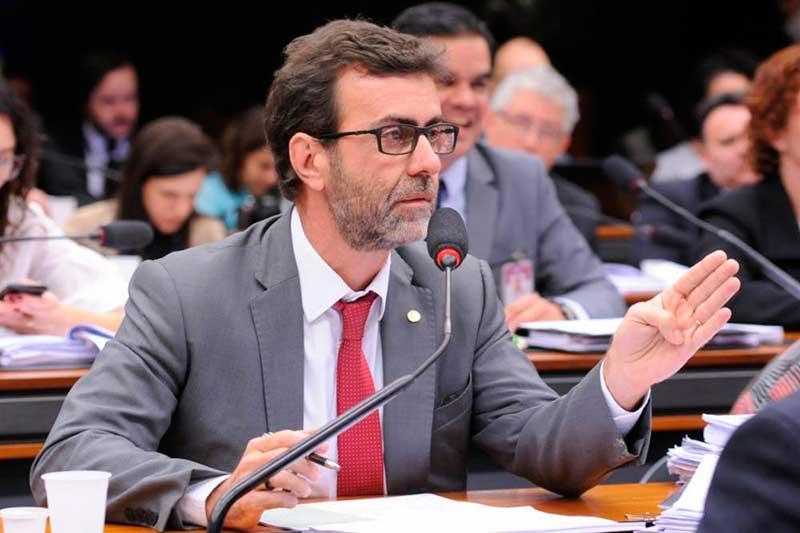 Deputado Marcelo Freixo protocolou um requerimento de convocação para que o ex-ministro fale à CPMI das Fakes News (Foto: Cleia Viana/Câmara dos Deputados)