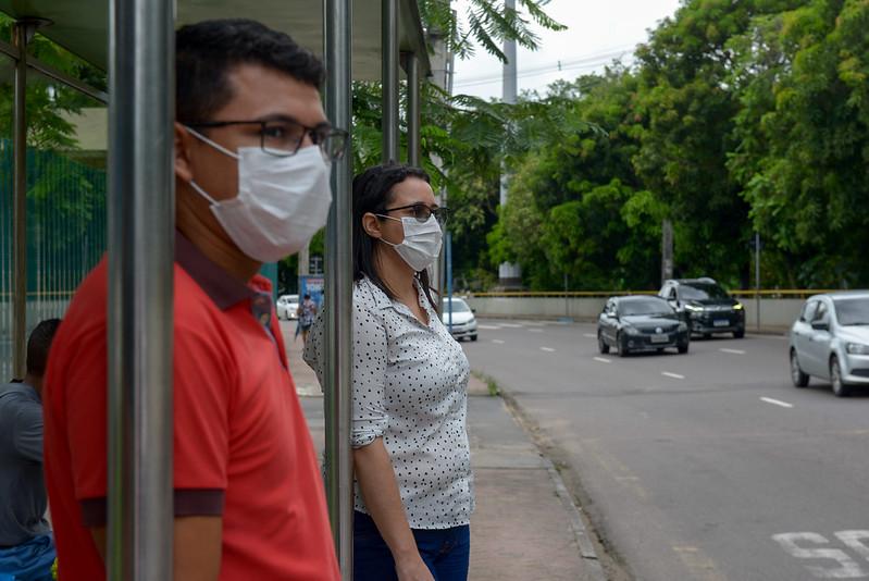 Uso de máscaras em Manaus