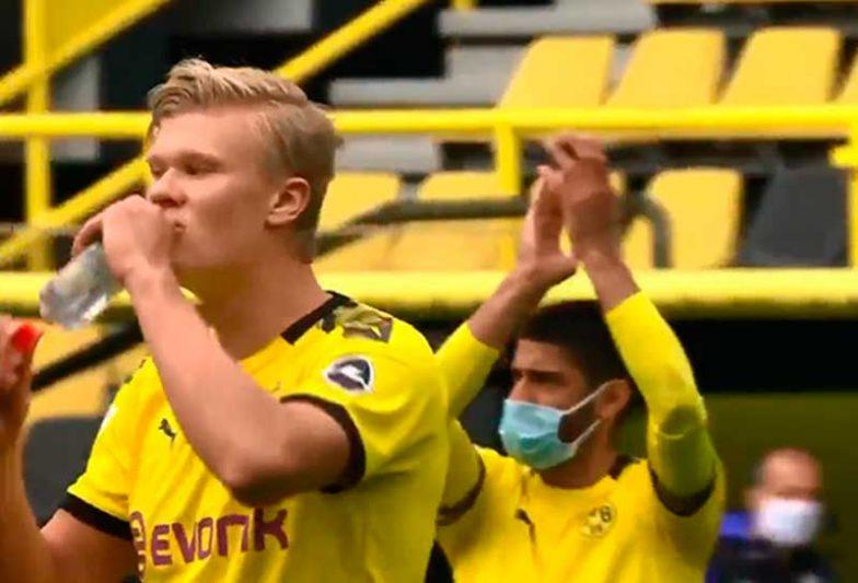 Com a goleada por 4 a 0, o Bourssia Dortmund se aproximou da liderança (Foto: Reprodução)