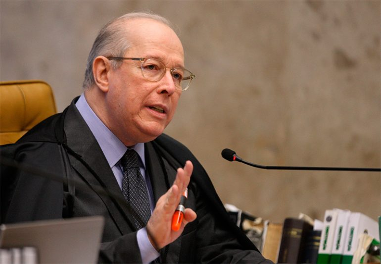 ministro Celso de Mello, do STF