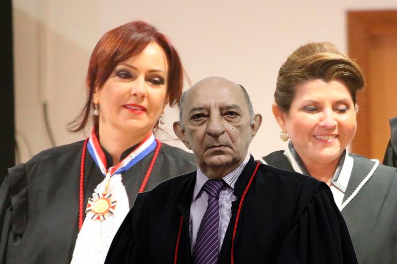 Domingos Chalub, Carla Reis e Nélia Caminha