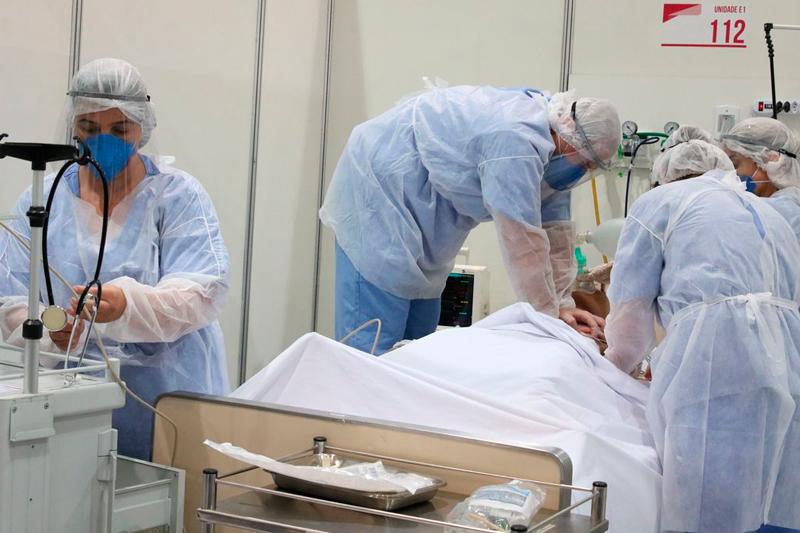 paciente com Covid-19