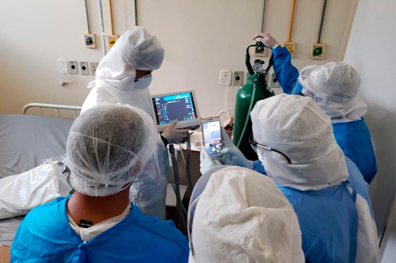 Hospital para tratamento de Covid-19