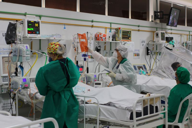 Hospital em Manaus Covid-19