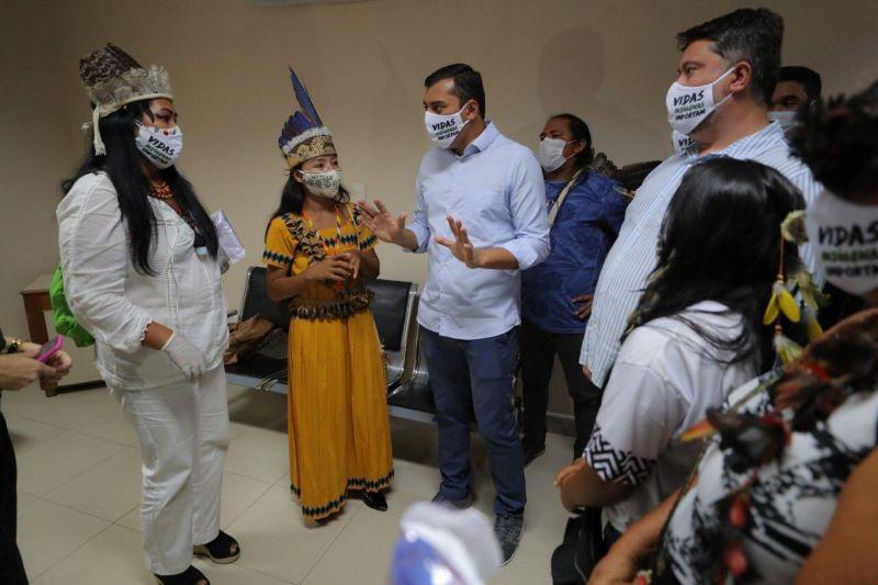 Ala de hospital para indígenas em Manaus