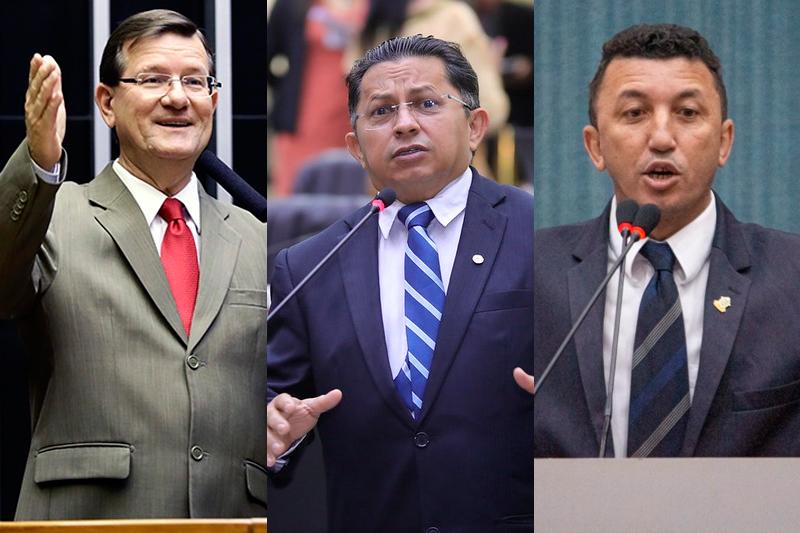 José Ricardo, Sinésio Campos e Sassá