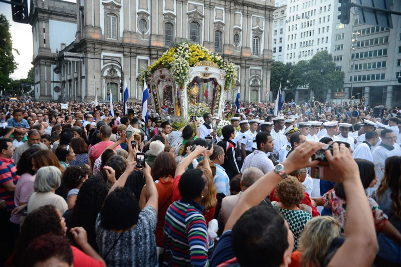 Procissão de Corpus Christi, Igreja da Candelária RJ