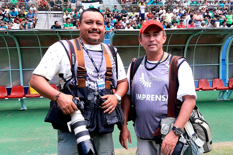 Sandro Pereira e Admar de Barros