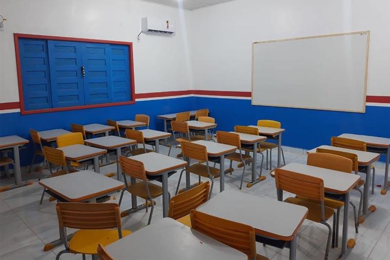 sala de aula em boca do acre