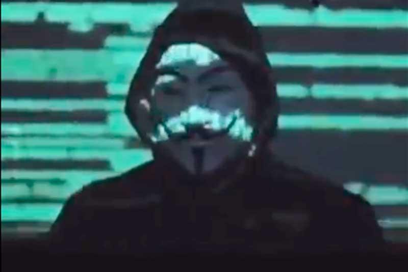 Após o vazamento, um novo perfil do Anonymous Brasil foi criado na internet, pois o original foi suspenso pela rede social (Foto: Twitter/Reprodução)