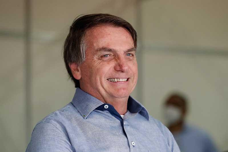 Jair Bolsonaro disse que manifestantes são 'desocupados que não sabem o que é economia e trabalhar para ganhar seu pão de cada dia' (Foto: Alan Santos/PR)
