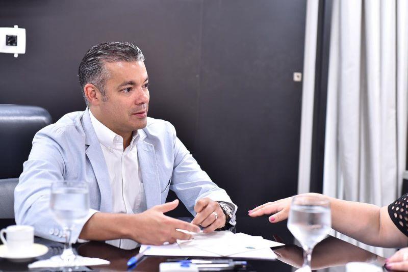 Josué Neto, presidente da Assembleia