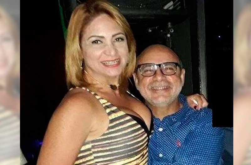 Tanto Flávio Queiroz como Márcia Aguiar foram assessores na Alerj (Foto: Reprodução)