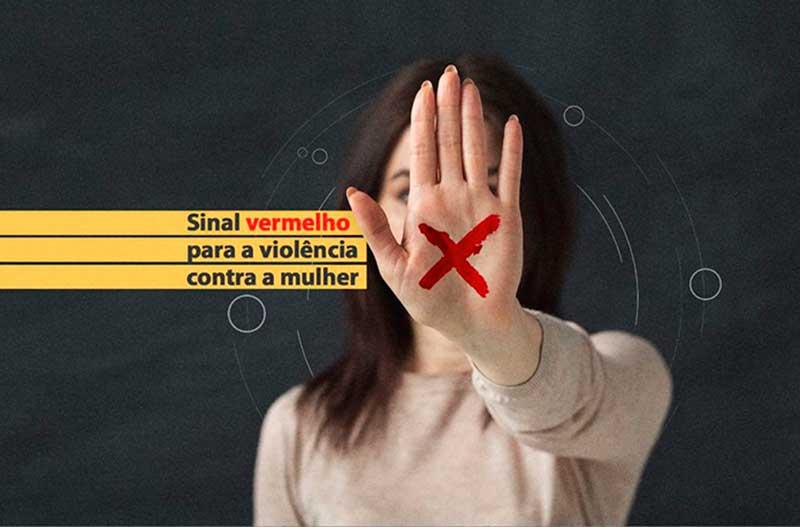 Basta mostrar um X vermelho na palma da mão para que o atendente ou o farmacêutico acione a polícia e encaminhe o acolhimento da vítima (Foto: Divulgação)