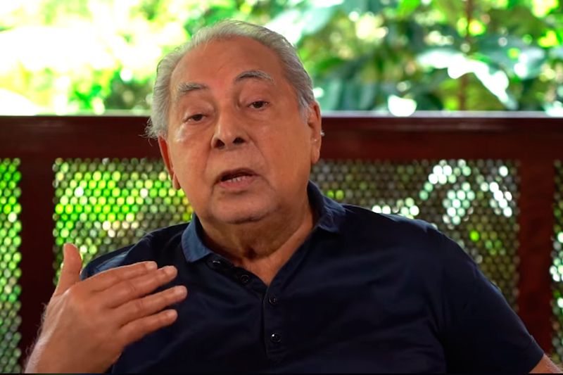 Ex-governador Amazonino Mendes
