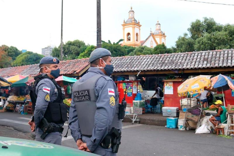 Operação Policial no Centro de Manaus