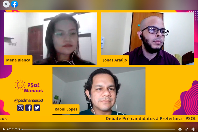 Debate PSOL Manaus