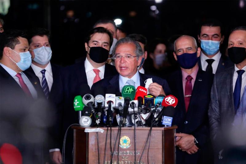 Ministro Paulo Guedes no Congresso