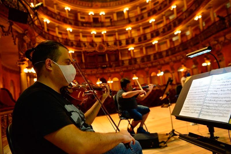 Concerto no Teatro Amazonas