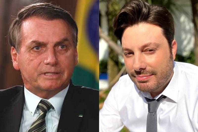 Danilo Gentili acusou o presidente Jair Bolsonaro de promover censura ao SBT (Foto: Reprodução/Instagram)