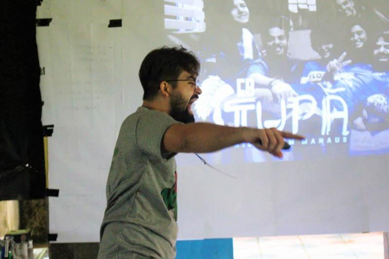 Gustavo Freire é presidente da Aiesec Manaus e lidera as iniciativas da ONG atualmente (Foto: Divulgação/AIESEC)