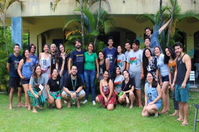 Voluntários participam de eventos e atividades laborais promovidas pela Aiesec (Foto: Divulgação/AIESEC)